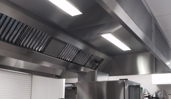 Commercial Kitchen Extraction Canopies