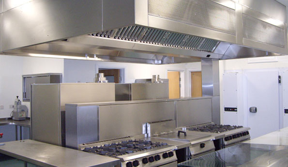 Commercial Kitchen Extraction Canopies ...